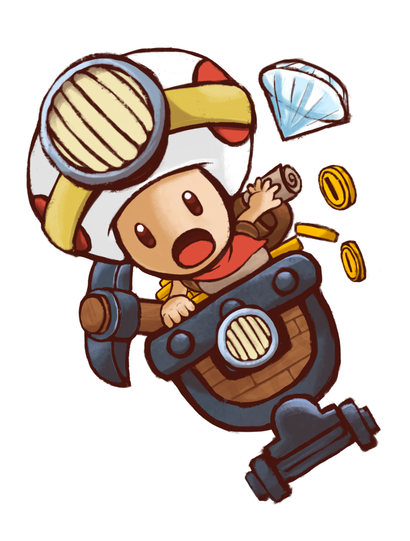 Captain Toad  by   Ghinks