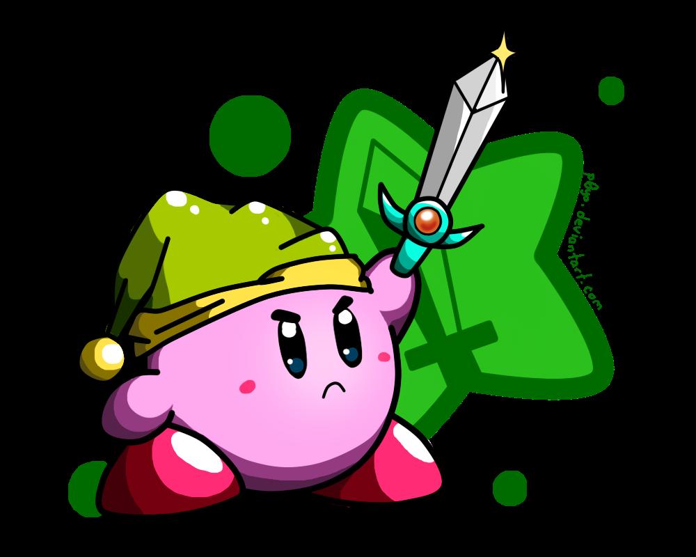 Sword Kirby!  by   p0Yo