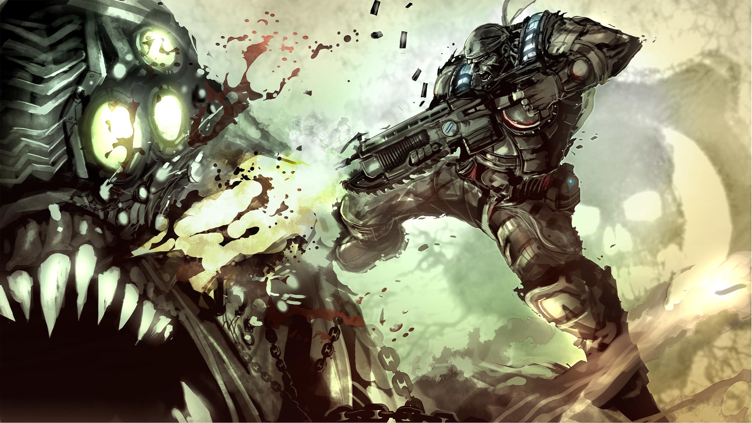 geared for war  by   nefar007
