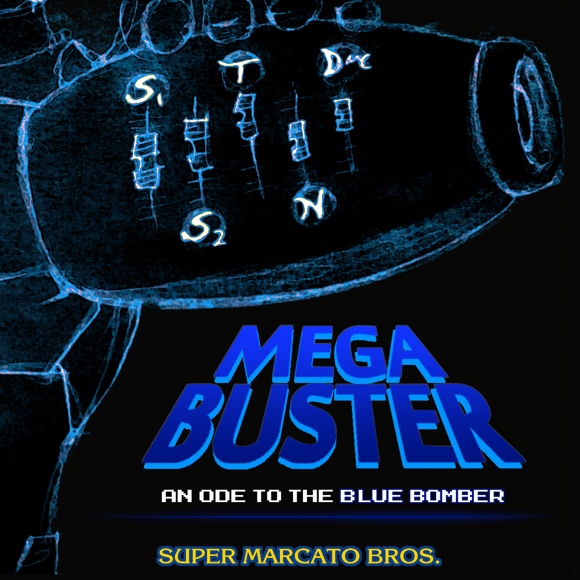 super-marcato-bros-mega-buster-mega-man-tribute