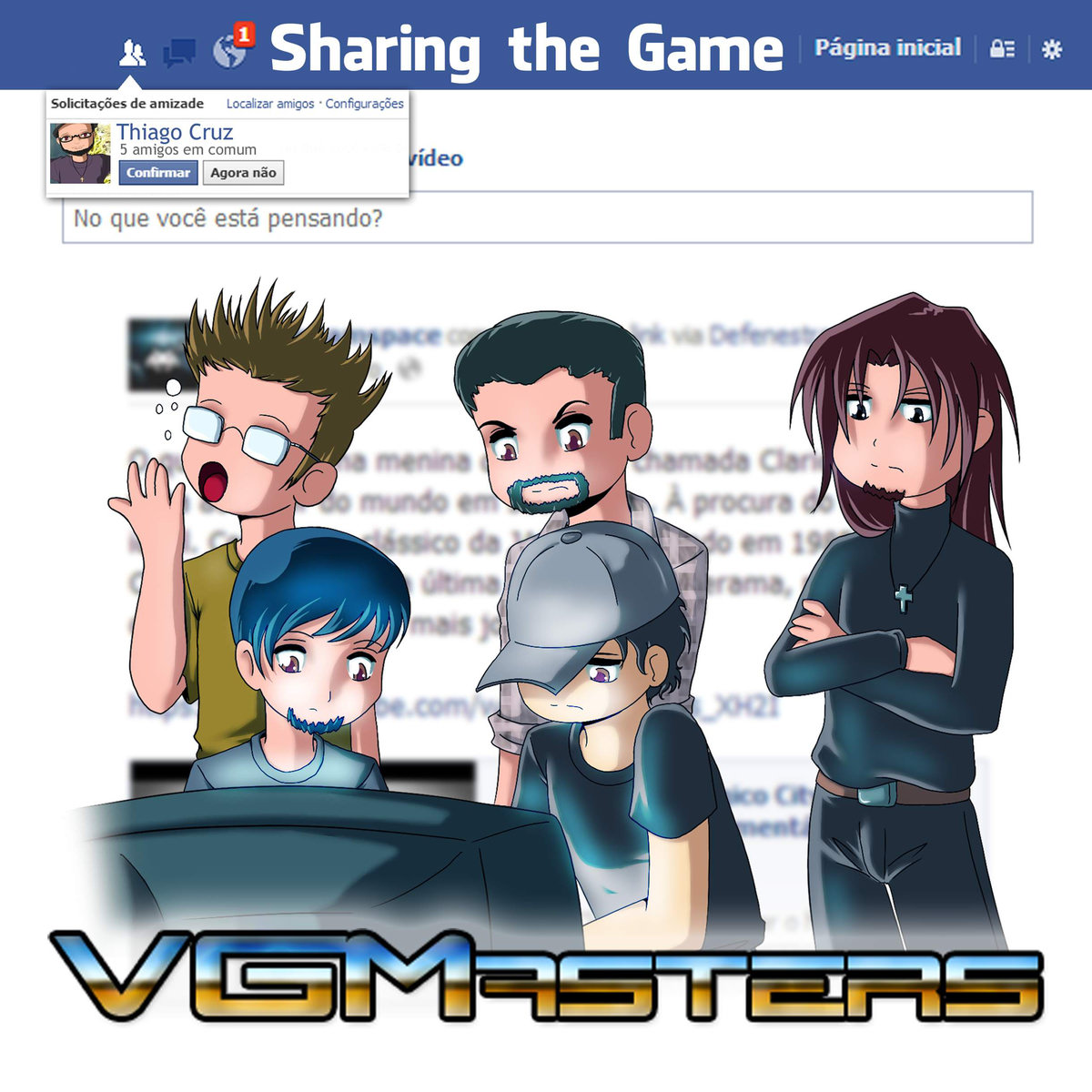 VGMasters - Sharing the Game