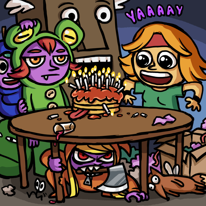 Ittle Birthday  by   Regnsloja