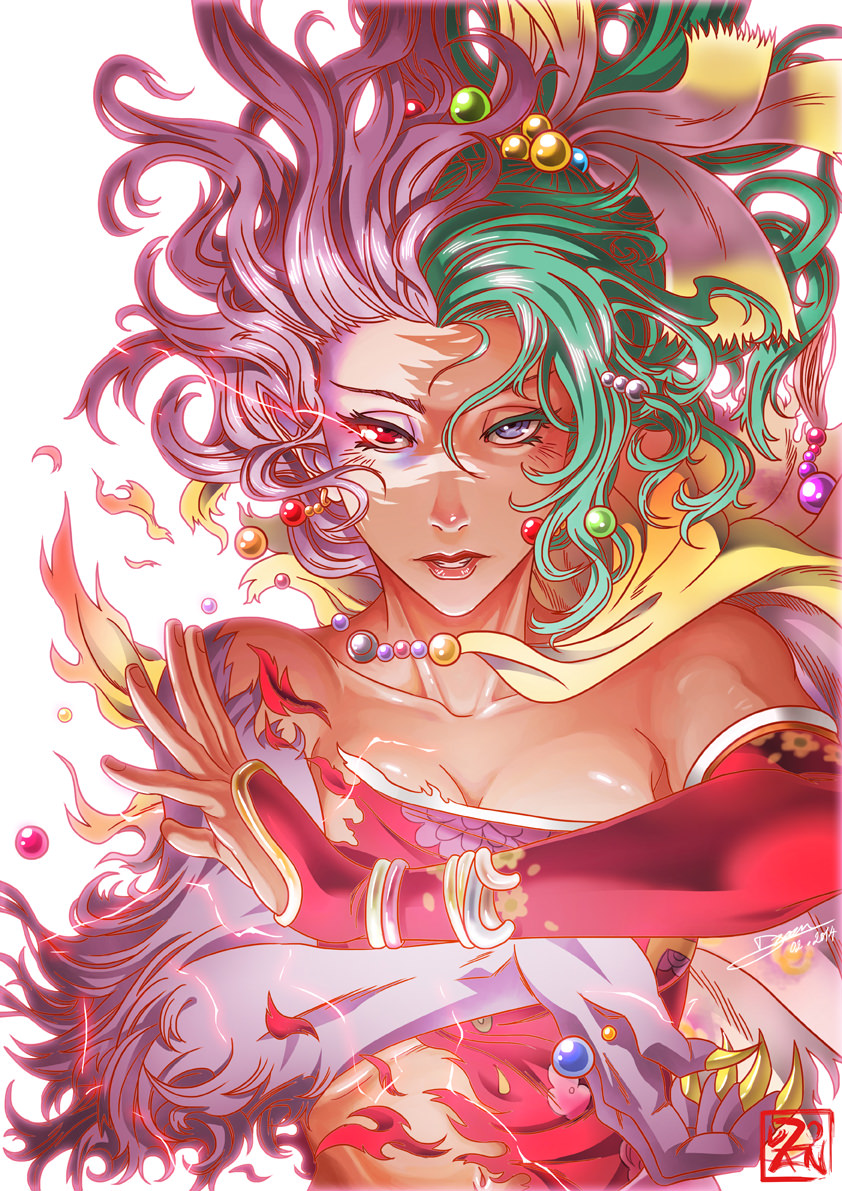 Final Fantasy VI - Terra Branford   by    Dzoan