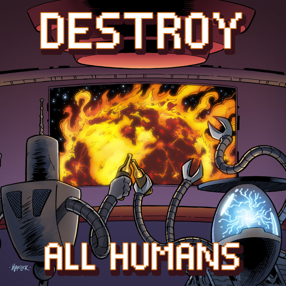 Crayondroids - Destroy All Humans