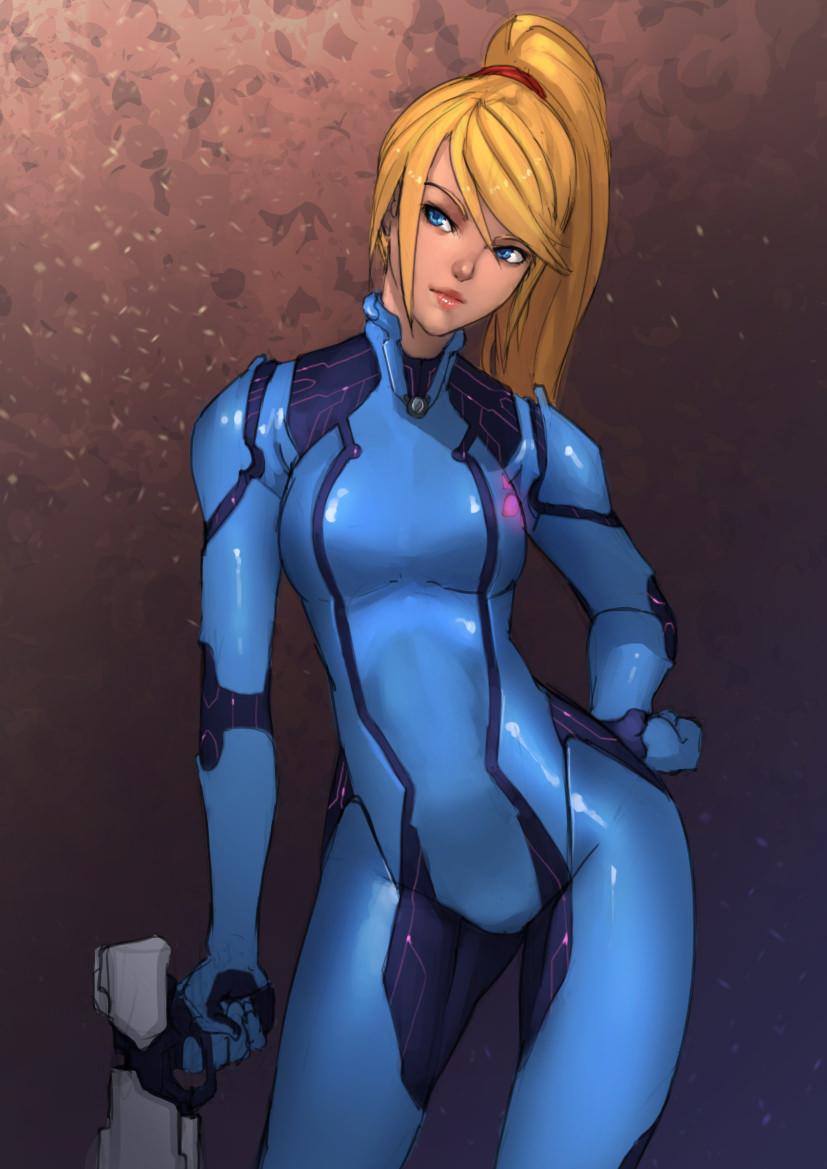 Zero Suit Samus  by   doghateburger