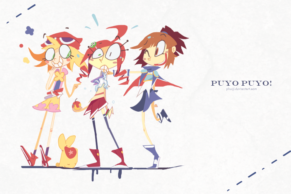 Puyo GURLS   by    PhuiJL
