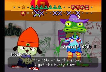 Standard video game scene.