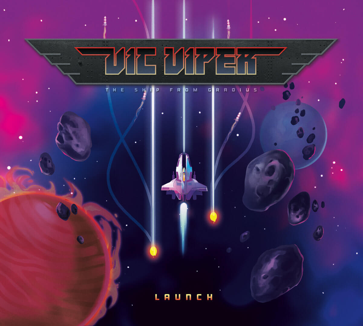 Launch, the debut album by NES tribute band Vic Viper — Game Music 4 All