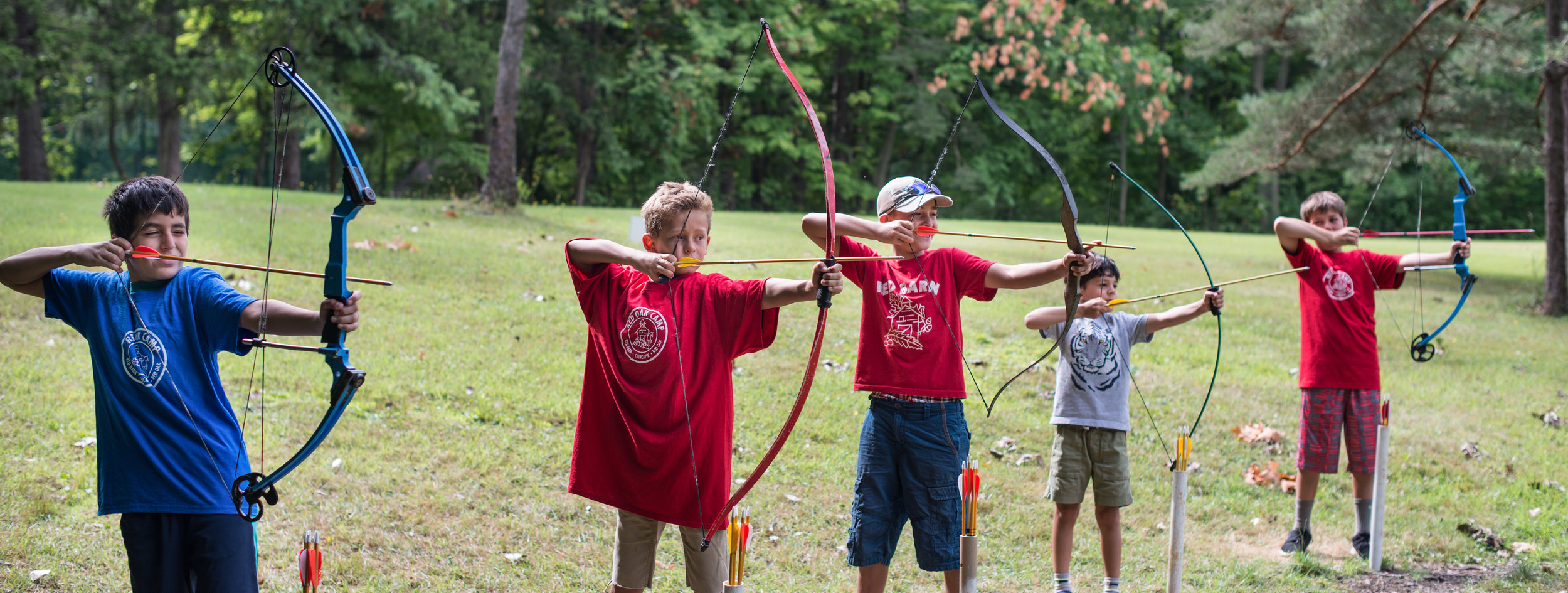 Red Oak Boys Camp Archery