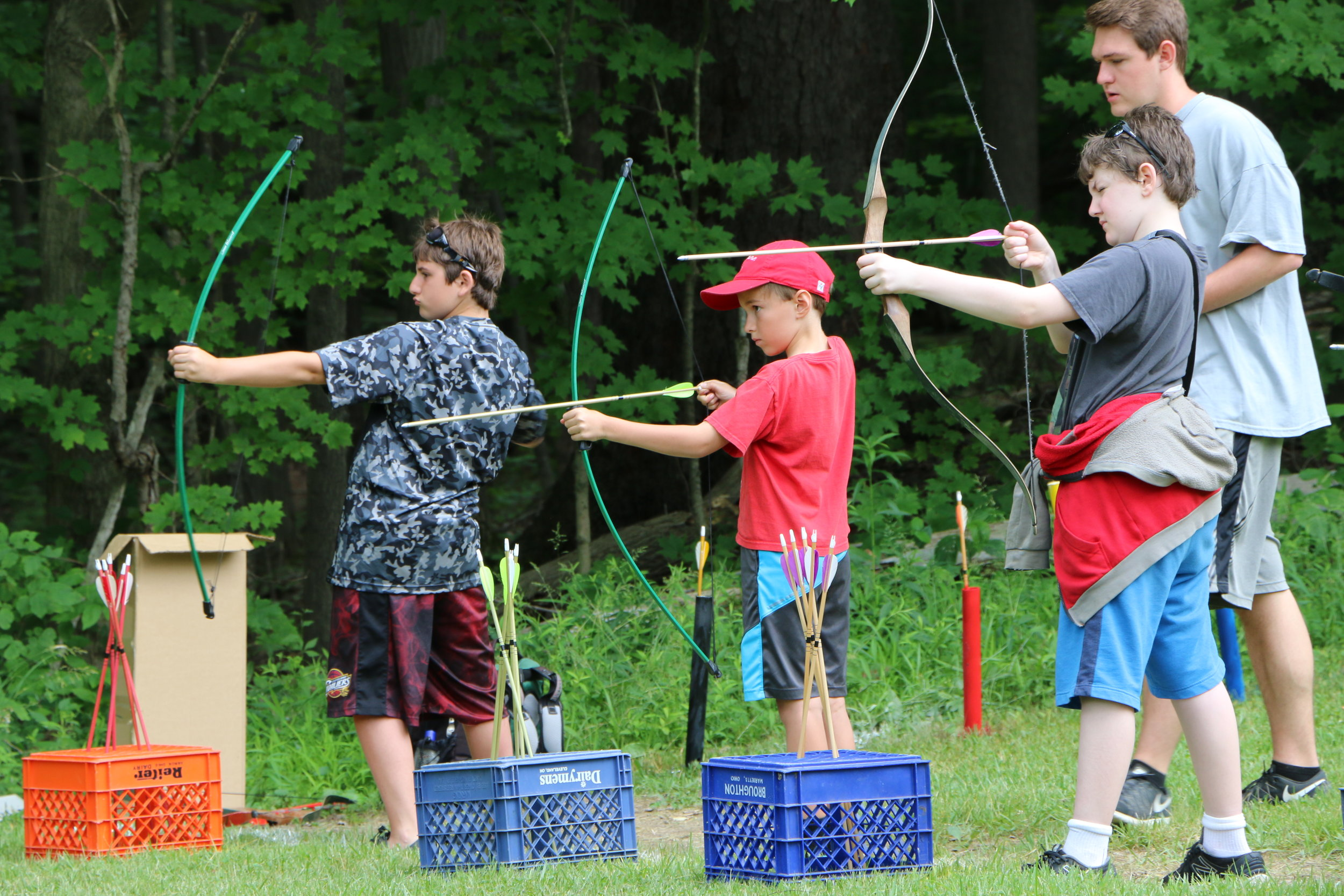 Red Barn Archery Week 1.JPG