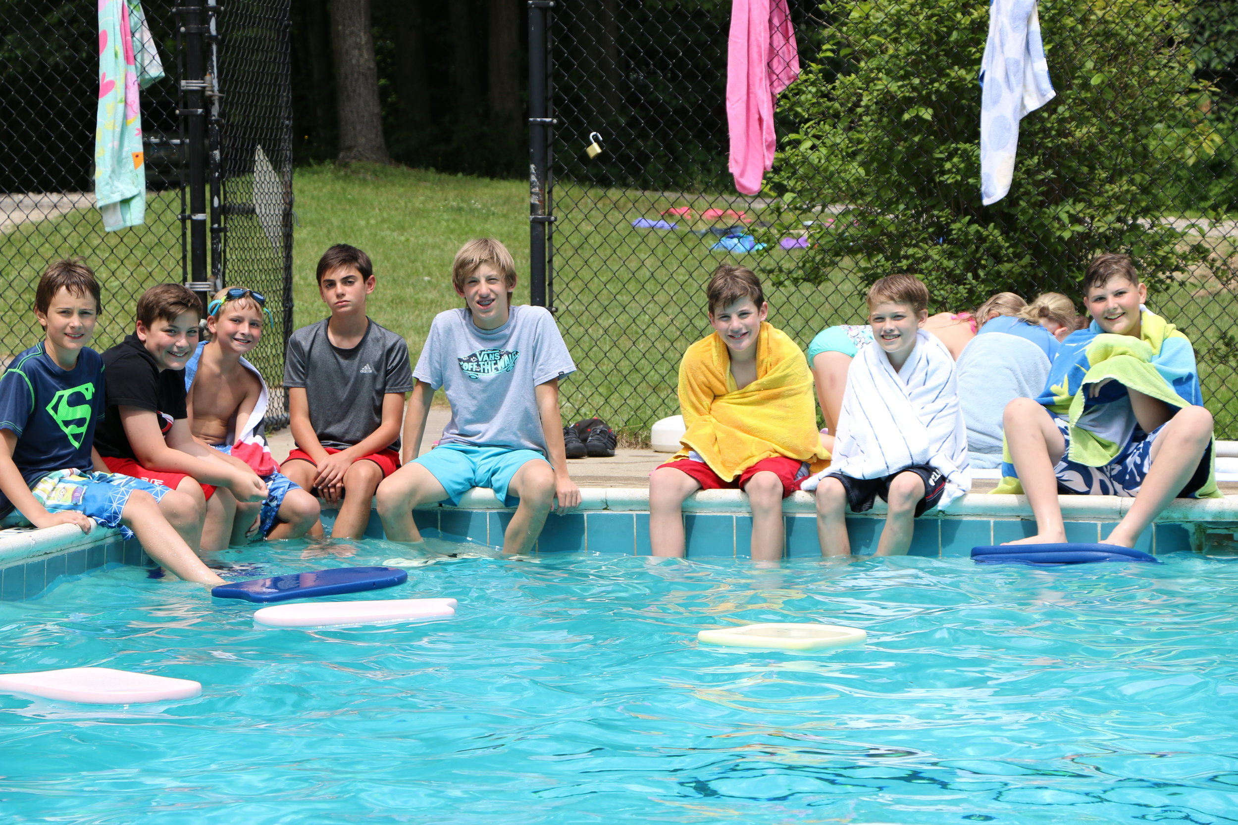 Pool Red Barn Group Pic - Week 3.JPG