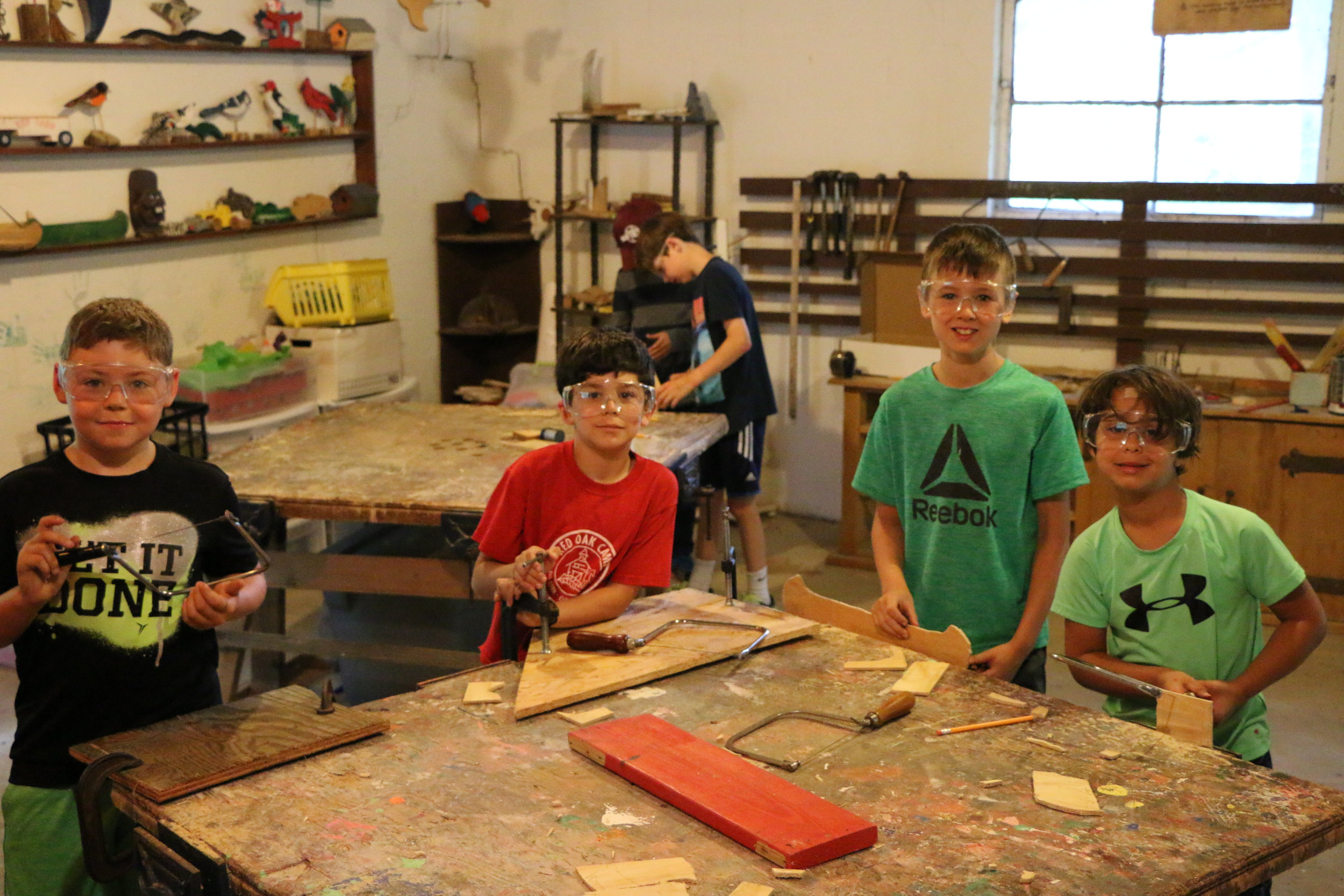 Red Barn Wood Shop Boys - Week 3.JPG