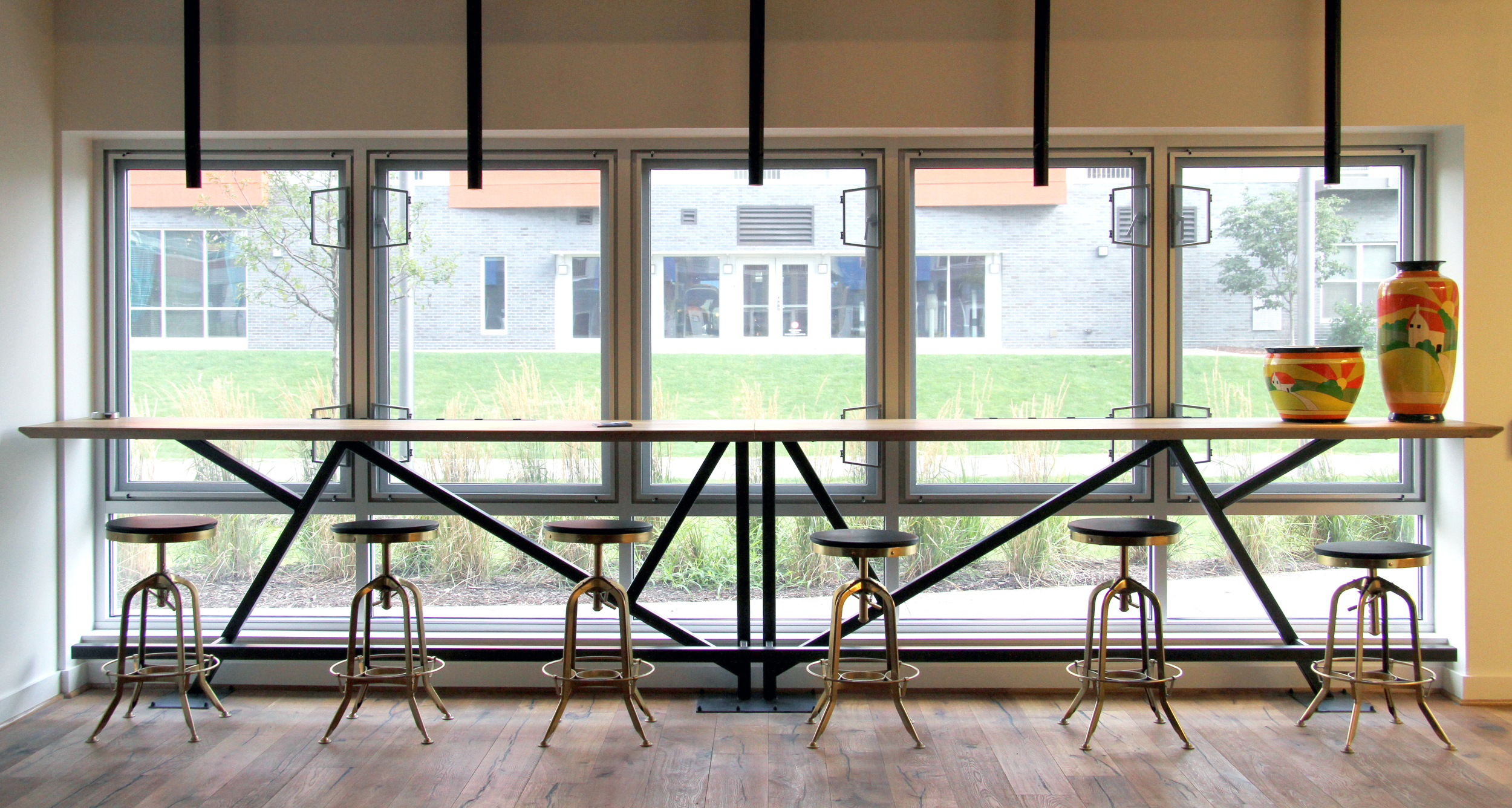 Bakery Sq. Living Custom Tables