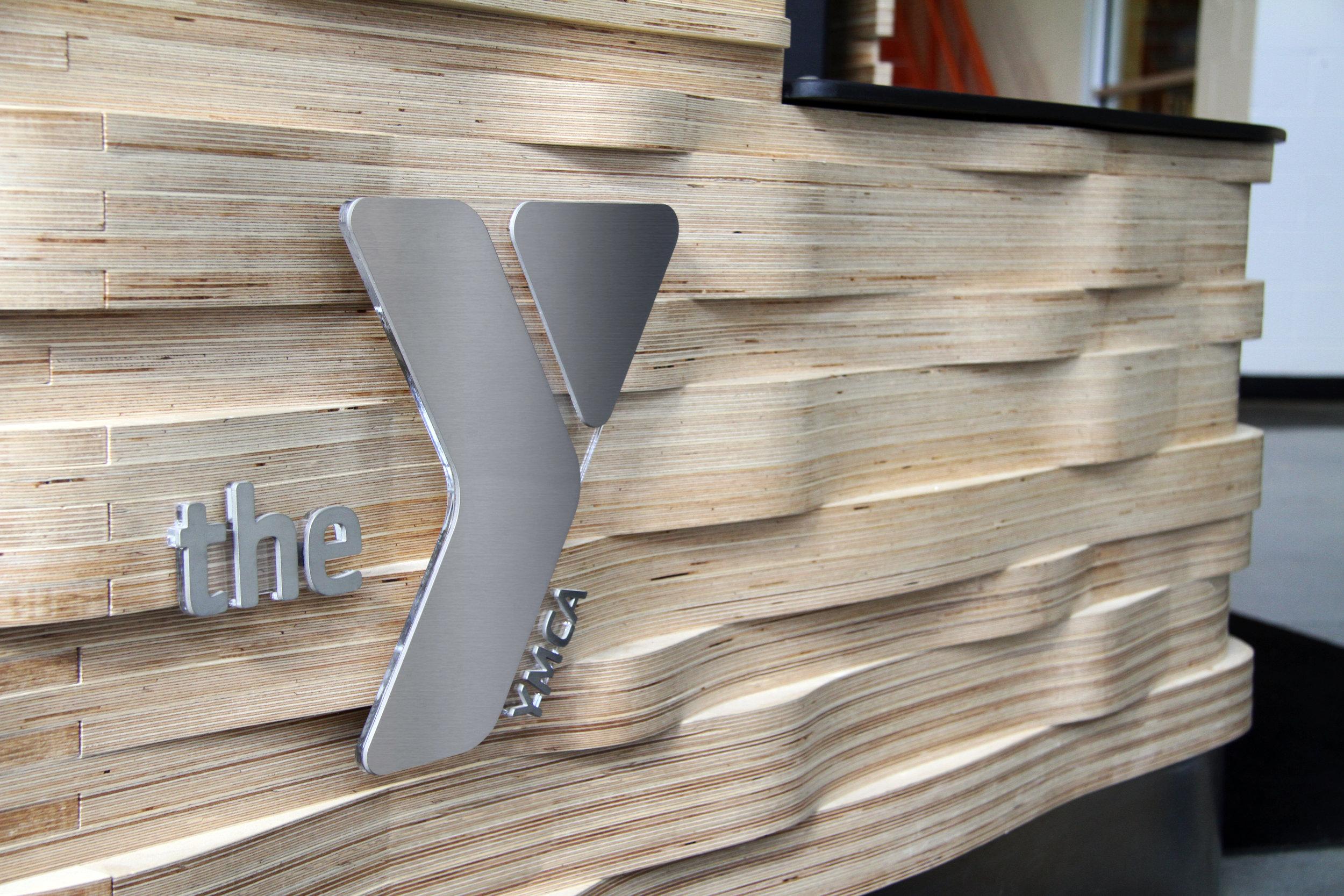 YMCA Reception Desk