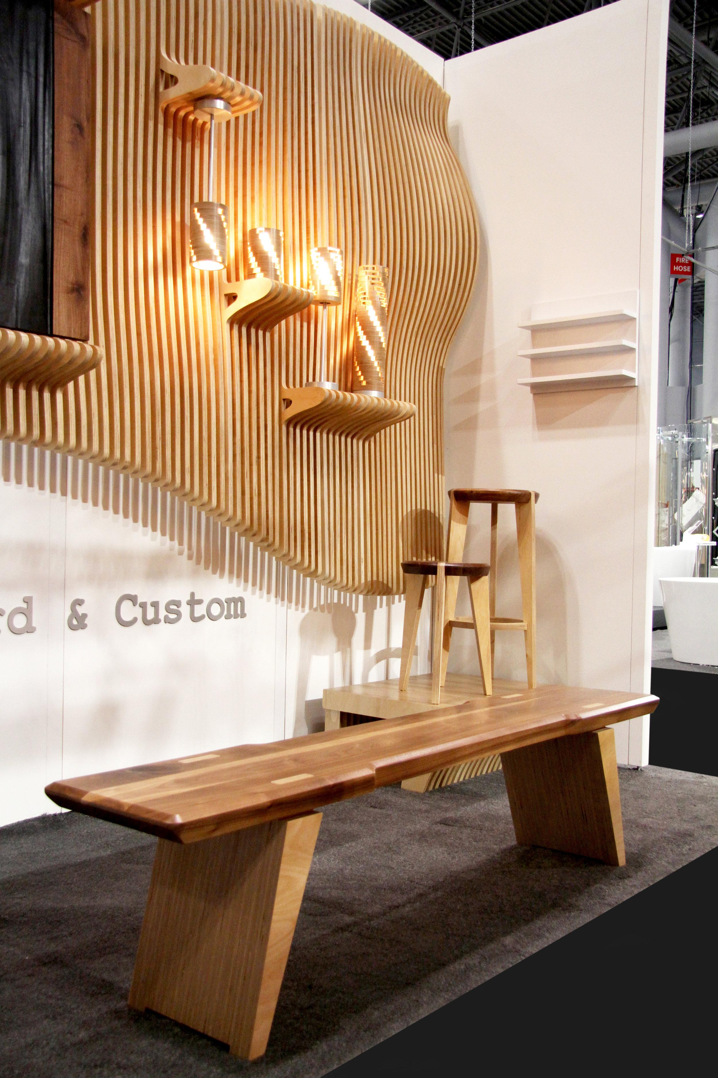 karunadu  bench/coffee table & stool/side table