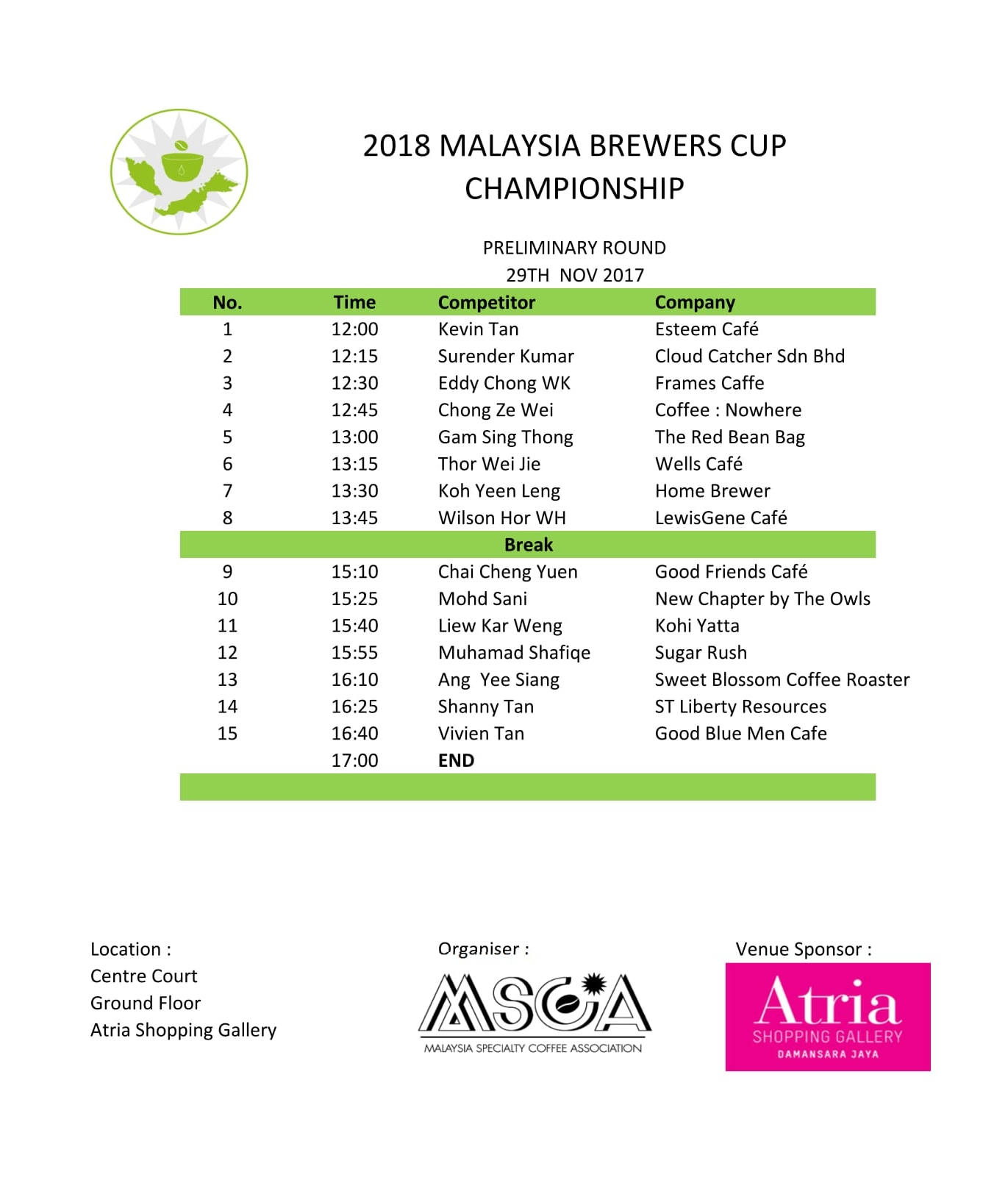 2018 MSCA  - MBRC Preliminary Rd - Day 1 line up-1.jpg