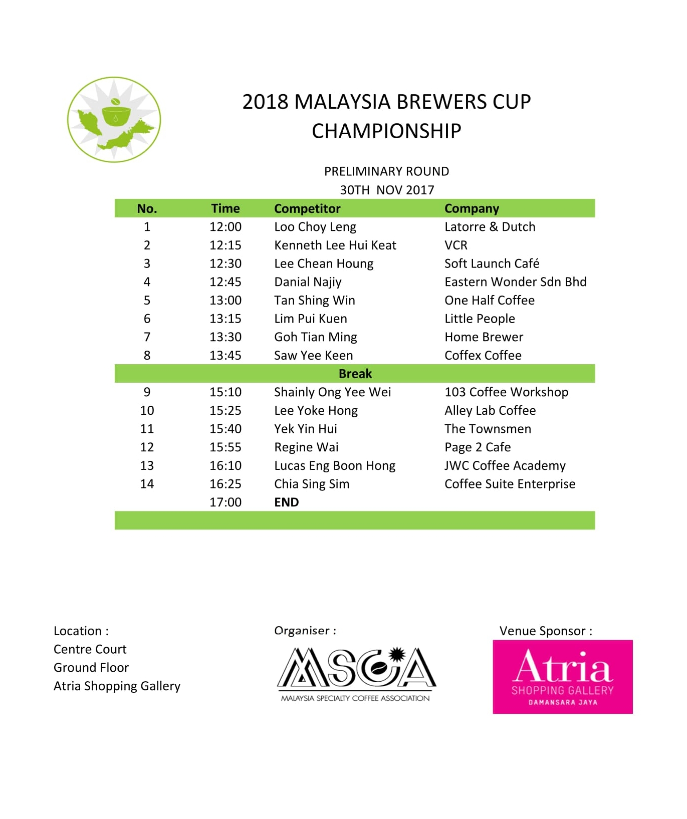 2018 MSCA  - MBRC Preliminary Rd - Day 2 line up-1.jpg