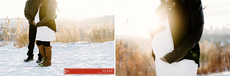 Winter Maternity Photography - Pauline - 004.JPG