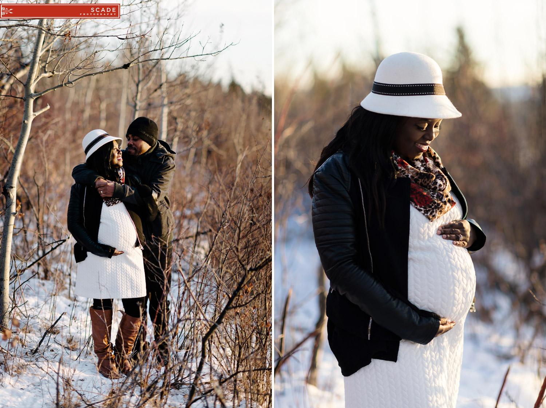 Winter Maternity Photography - Pauline - 006.JPG