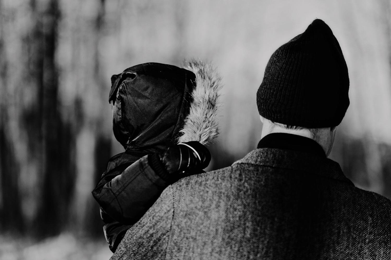 Sylvan Lake Photography, Winter Family Photographer,