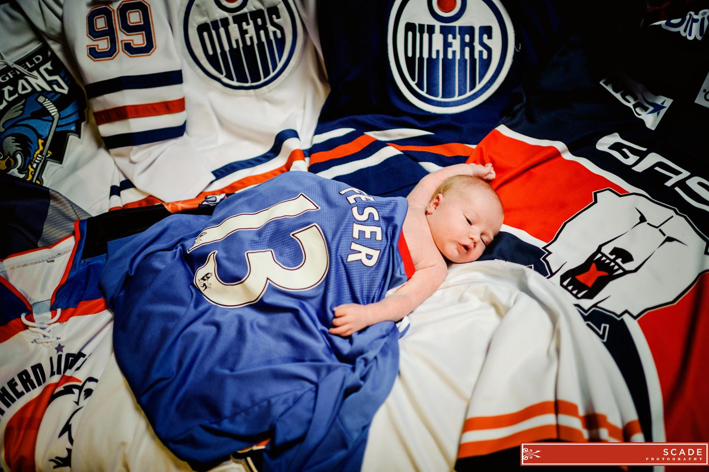 Edmonton Lifestyle Photography - Newborn - Daelen