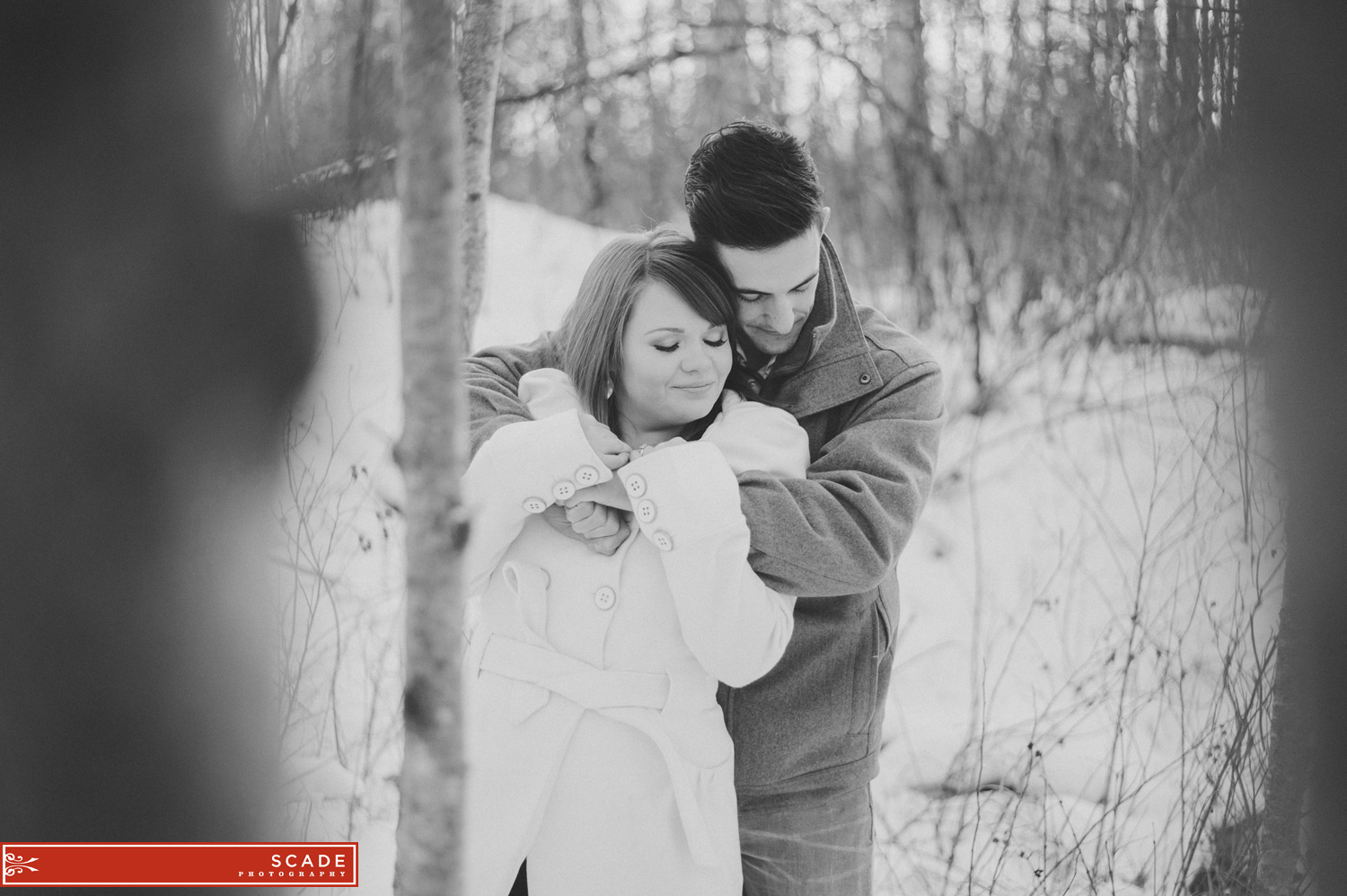 Winter Engagement Photography