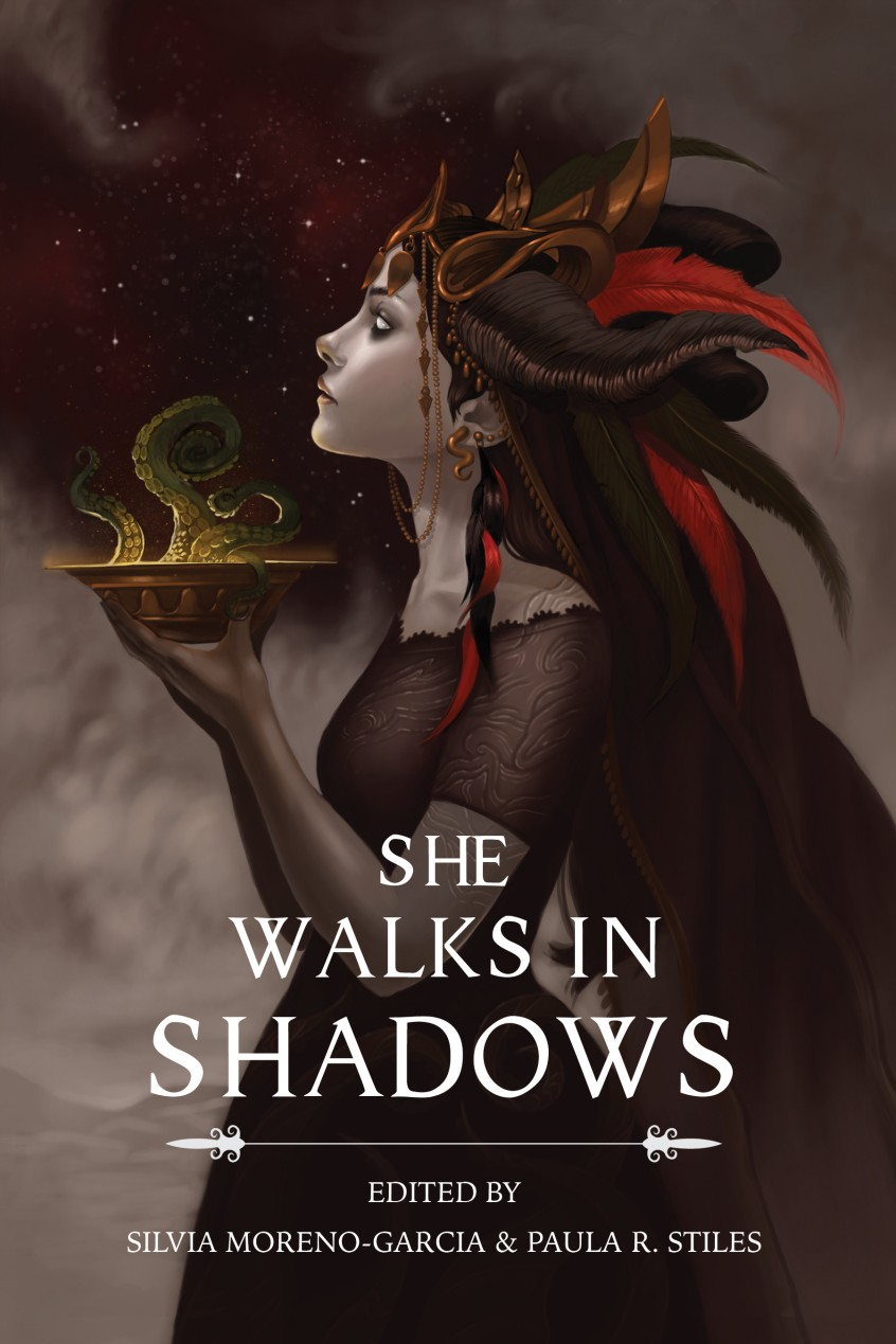 She Walks in Shadows  cover by Sara K. Diesel