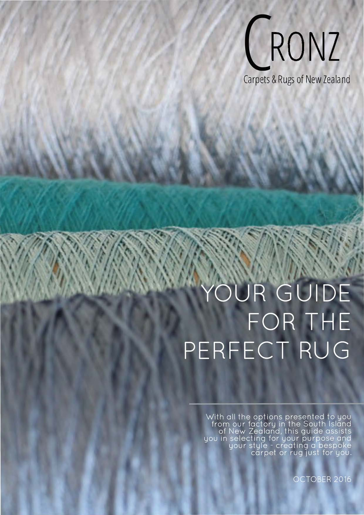 Rug Guide - How to select.