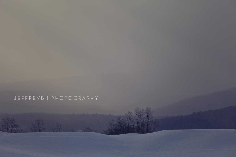 Sunset Stowe, Vermont