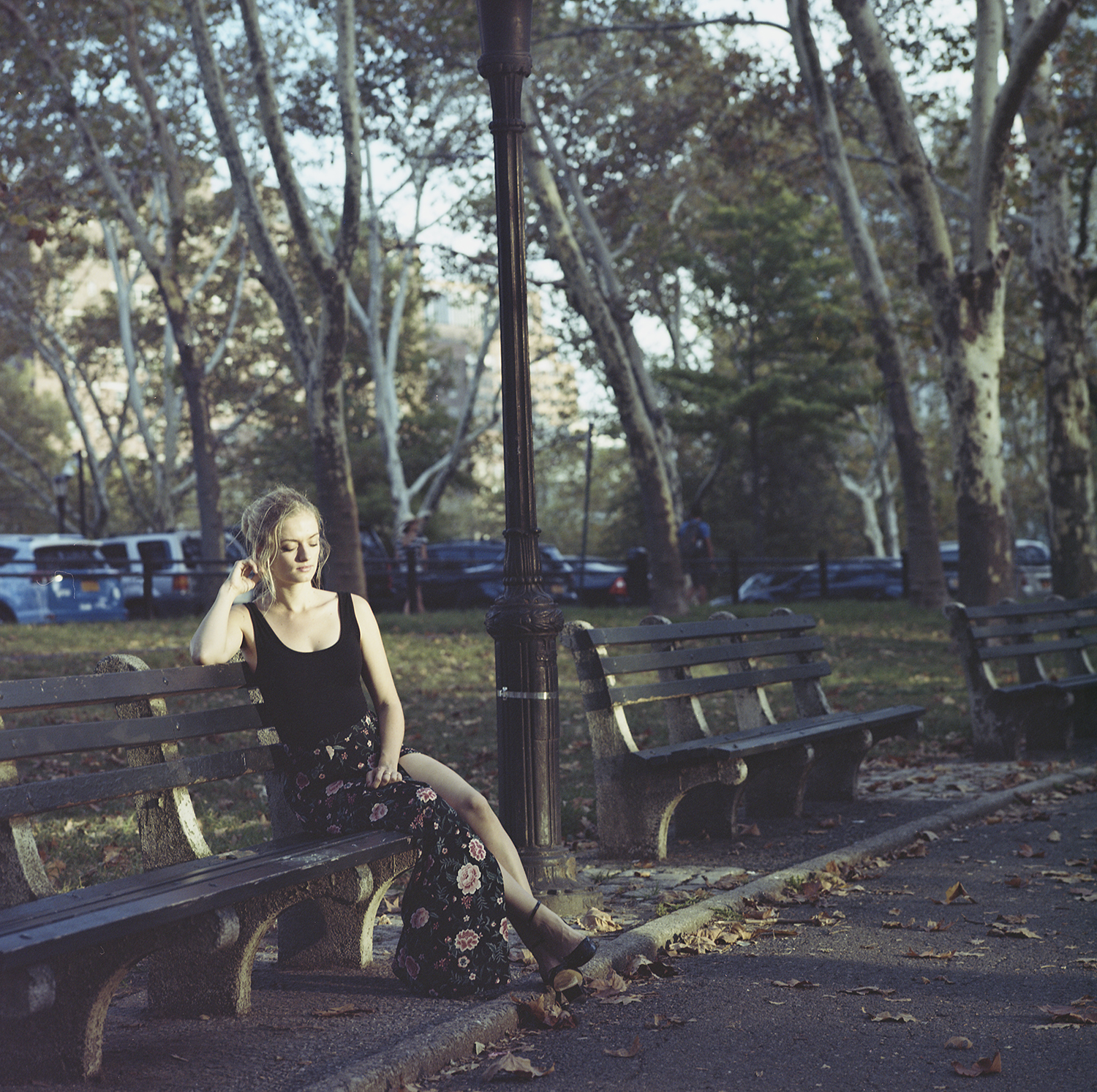 Juliane, Brooklyn, New York City, September 2017, Kodak Portra 160