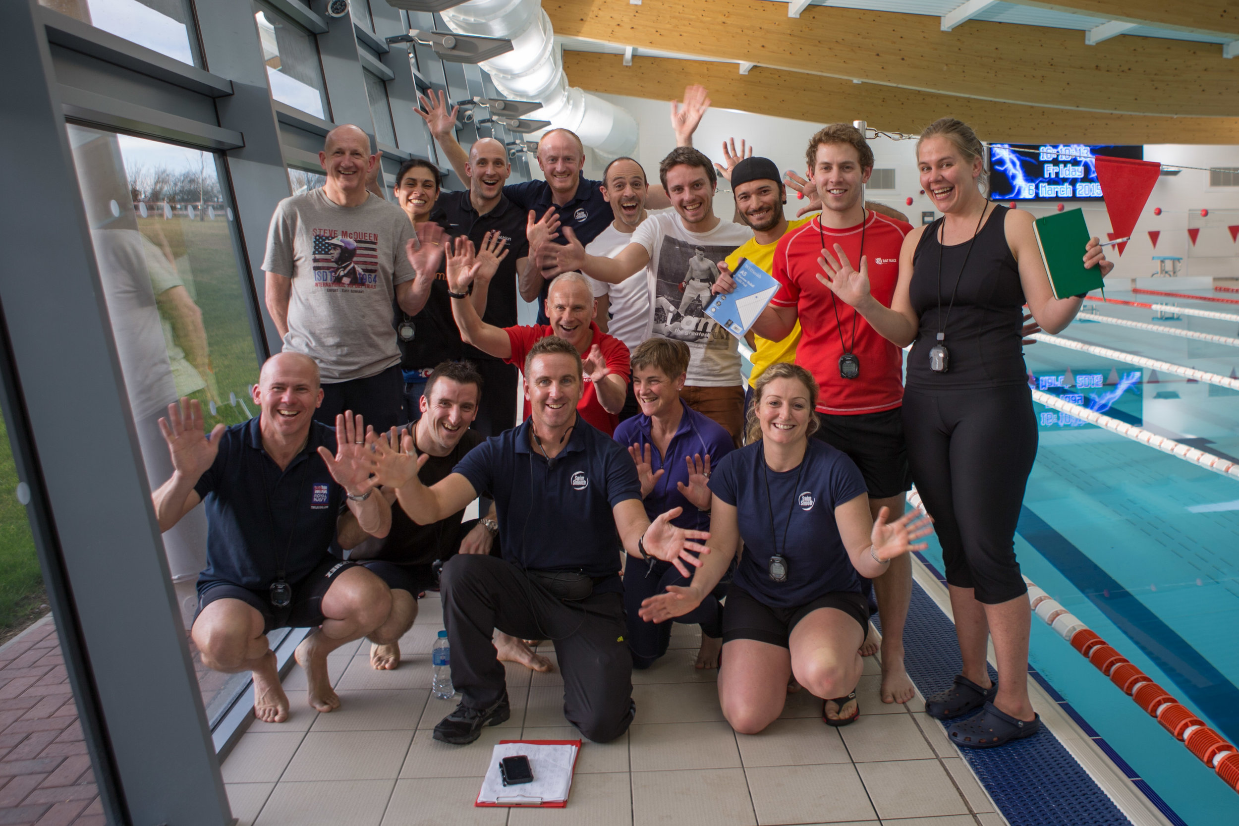 Class of 2015: on the legendary Swim Smooth Coaches' Education programme
