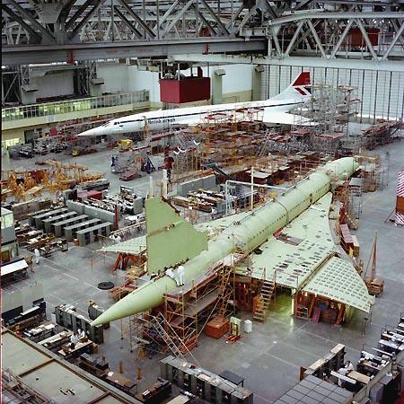 Concorde manufacturing