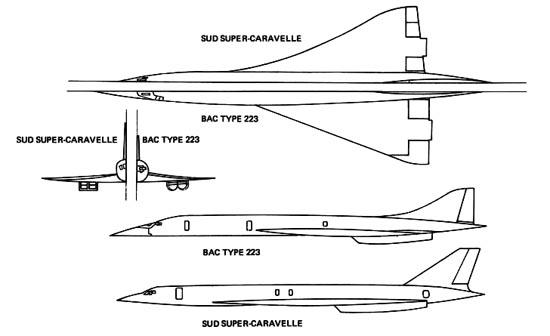 Concorde drawings