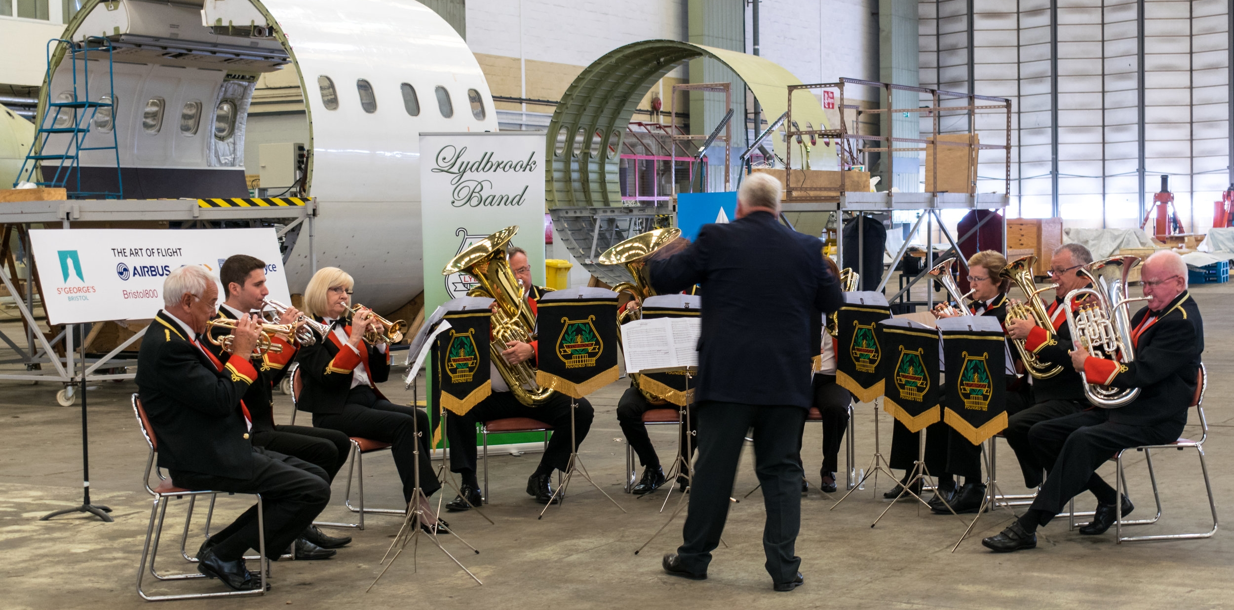 A preview of Innovation 216 was performed on 14th September 2016 in the historic Brabazon Hangar