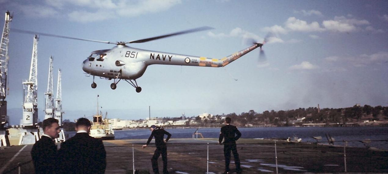 Bristol 171 Sycamore, Royal Australian Navy