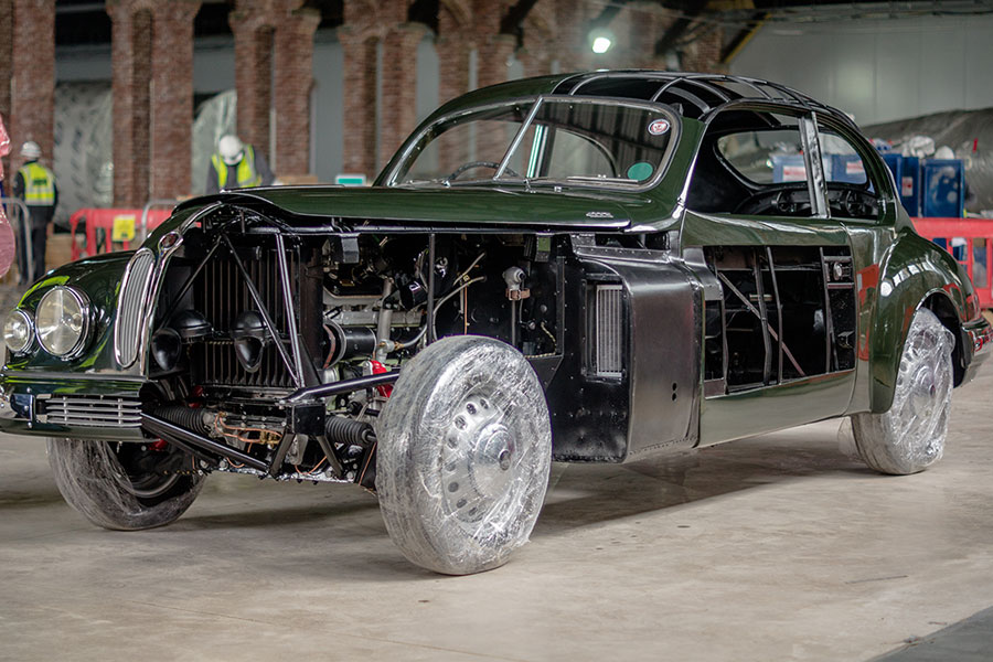 The 1953 Bristol 403 will be on display in our historic Hanger 16S