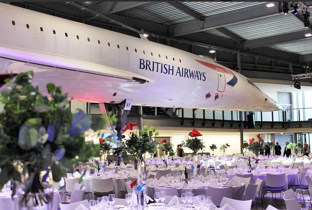 Dine under the wings of Concorde