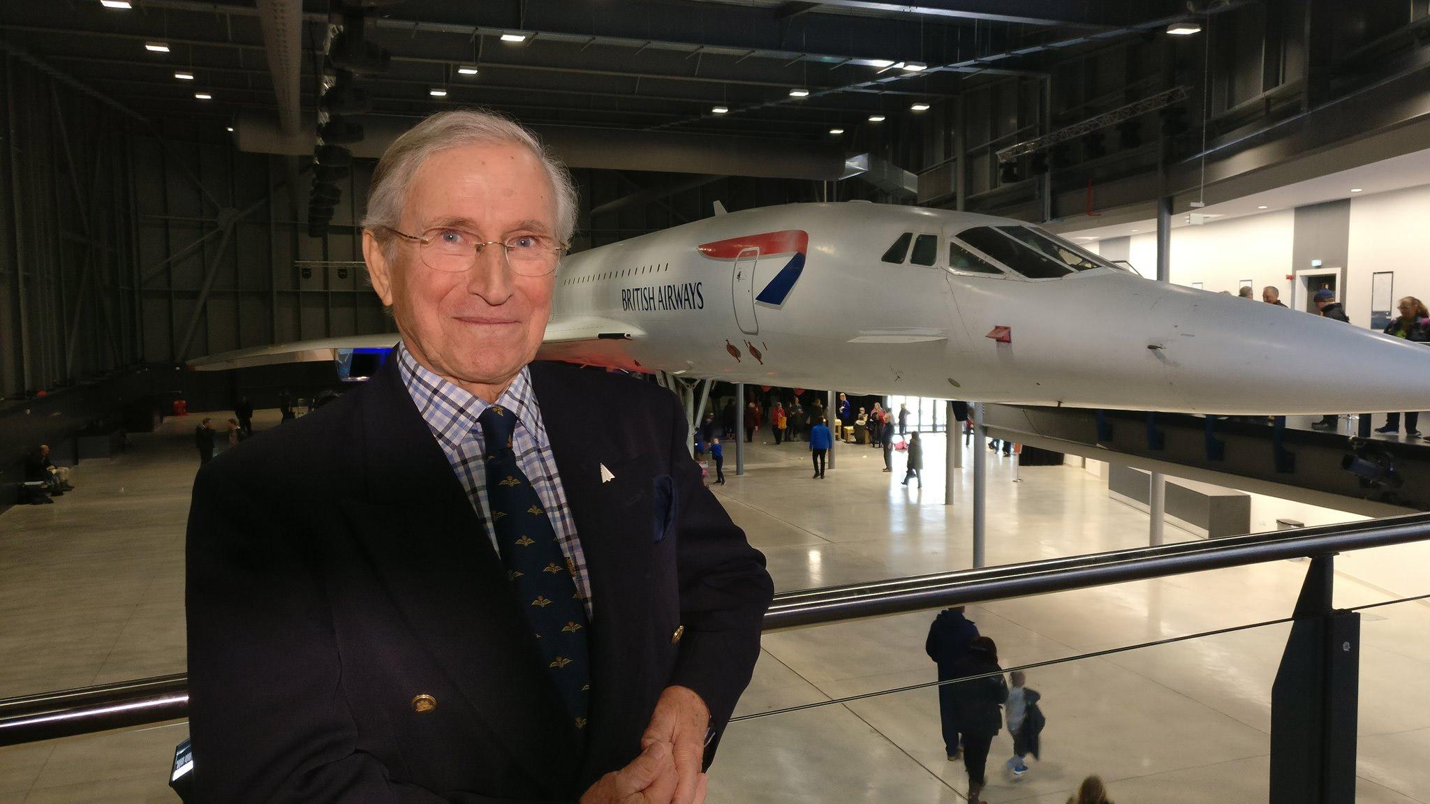 Captain Colin Morris at Aerospace Bristol