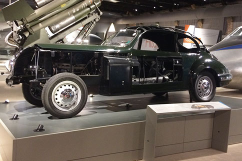 See this Bristol 403 car at Aerospace Bristol - a stunning piece of engineering, inside and out
