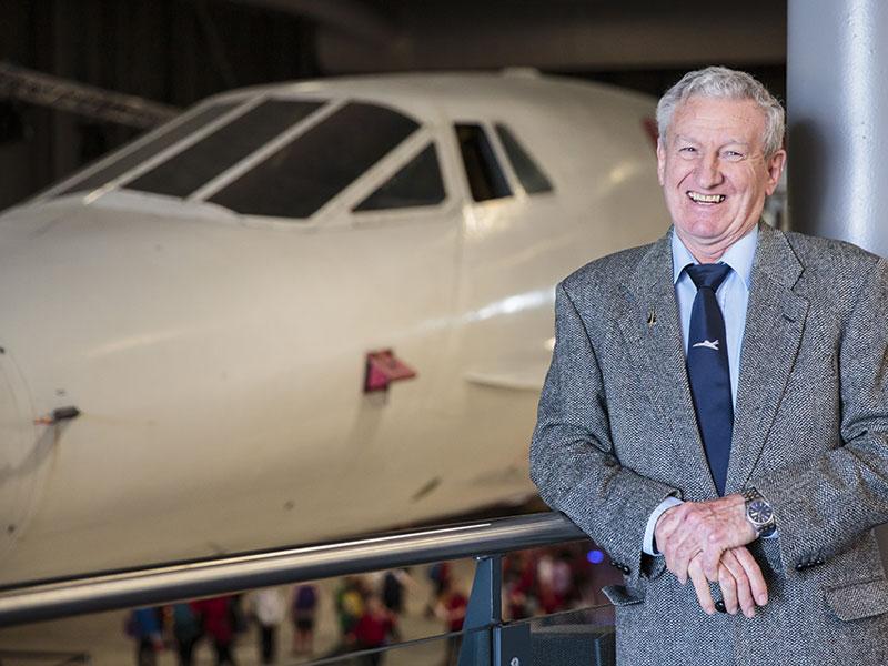 Concorde Captain Gwyn Williams