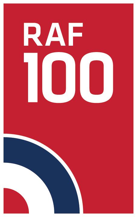 RAF100 logo
