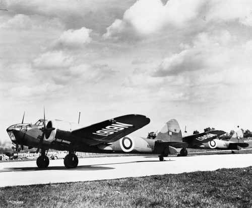 7 April 1940 - Bristol Blenheims Mk I or Mk IV were the first to spot the German Fleet leaving Kiel harbour under cover of bad weather to invade Denmark and Norway.Credit: BAE Systems
