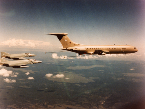 27 April 1994 - First K Mk 4 tanker conversion of the VC-10 carried out at Filton was delivered to the Royal Air Force.Credit: BAE Systems
