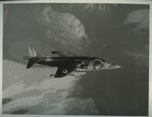 5 May 1969 - Between 4-11 May, A Harrier of No. 1 Sqn using the Rolls-Royce (formerly Bristol-Siddeley) Pegasus engine won the Daily Mail London - New York transatlantic air race. The flight involved 4 air-to-air refuellings and took 6 hr 11 min 57 sec.Credit: BAE Systems via Brooklands Museum