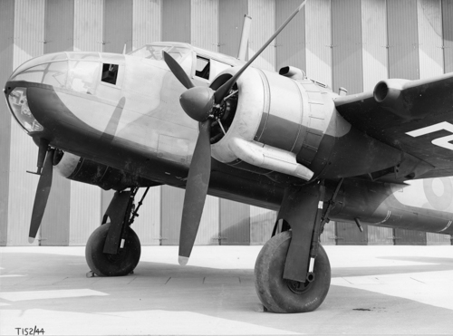 7 May 1940 & 1946 - A Bristol Beaufort of Coastal Command dropped the first 2,000lb (905kg) bomb during an attack on a German cruiser anchored off Norderney. Also on 7 May 1940, the first production Stirling conducted its first flight. The first few Stirling Mk.Is were furnished with Bristol Hercules II or III engines, but the majority were built with more powerful Hercules VI, X, XI or XVI engines. The Stirling was flown by 27 different RAF Squadrons.On 7 May 1946, the first of two Handley Page Hastings prototypes (TE580) flew at RAF Wittering . The Hastings C.1 was rushed into service because of the Berlin Airlift, with No. 47 Squadron replacing its Halifax A Mk 9s with Hastings from September to October 1948. The Hastings C.1 was powered by four wing-mounted Bristol Hercules 100, 101 or 105 sleeve valve radial engines, whilst the C.2 used Hercules 106 or 216. The Hastings was flown by 17 RAF Squadrons.Credit: BAE Systems