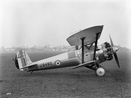 8 May 1929 - The first of 25 Bristol Bulldog II ordered by the Air Ministry was delivered to the RAF. Deliveries to Nos. 3 and 17 Sqns continued until 10 October 1929. The RAF were delighted with their Bulldogs as much for their durability and ease of maintenance as for their lively handling qualities. The War in Europe ended with the German surrender on 8 May 1945. 14,000 Bristol aircraft and 101,000 Bristol engines were delivered during the Second World War.Credit: BAE Systems