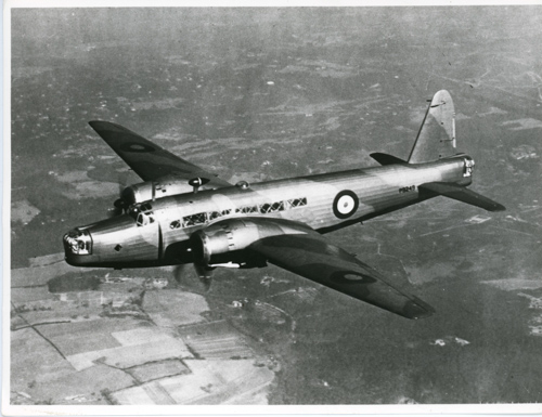 15 June 1936 - The first twin-engined Vickers Wellington bomber prototype (Air Ministry Specification B9/32), K4049, made its first flight using 980hp Bristol Pegasus X engines. The production Wellington Mk I, some Mk IA and Mk IC used Bristol Pegasus XVIII engines. These Mks of Wellington subsequently served with 34 different RAF Squadrons.Credit: BAE Systems via Brooklands Museum