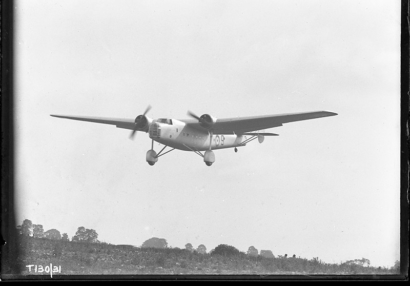 18 June 1940 - A French Intelligence officer attached to No. 1 Sqn found a Bristol Bombay abandoned on Chateaudun airfield with a broken tail-wheel. In spite of this damage, and regardless of the fact that he was not a qualified pilot, he took off successfully with 15 compatriots on board and flew to England to join the FreeFrench forces.Credit: BAE Systems
