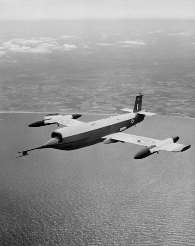 28 August 1952 - The Jindivik Mk.1, a target drone produced by the Australian Government Aircraft Factories (GAF), first flew. The Jindivik Mk.1 was powered by an Armstrong Siddeley Adder (ASA.1) turbojet, which had been developed as a disposable engine for the project. Only 14 Mk.1s were ever made. The Jindivik Mk.2 and subsequent Mks were powered by an Armstrong Siddeley Viper engine of various Mks including A.S.V.8 (Mk 102), A.S.V.11 (Mk 200) and Mk 201. Most UK flights were conducted by the Royal Aircraft Establishment at their Llanbedr (formerly RAF) establishment and fired over the nearby Aberporth Airport test range in west Wales. In the UK, the drone was used in the development of the Bristol Bloodhound, English Electric Thunderbird, and Seaslug surface-to-air missiles, and the de Havilland Firestreak air-to-air missile.Credit: BAE Systems