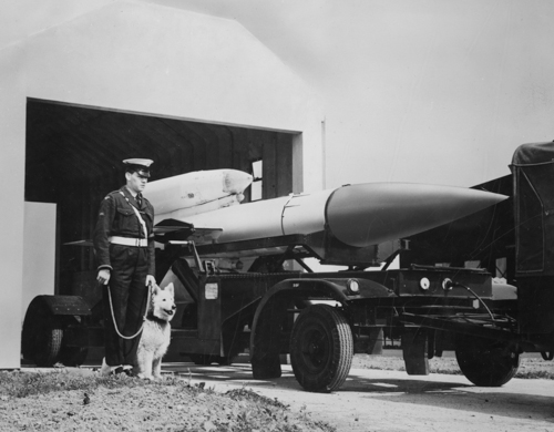 1 October 1963 - No. 25 Sqn was reformed at RAF North Coates as the first operational Bristol Bloodhound Mk II surface-to-air missile Unit.Credit: BAE Systems